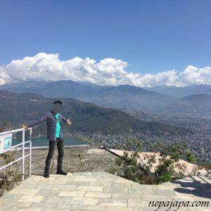 サンティパゴダからの景色