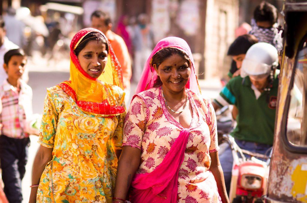 ネパール人女性の服装