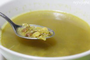 ネパールの代表的な料理:ダルスープ